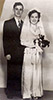 Dolly and Gregs wedding photo from 1950