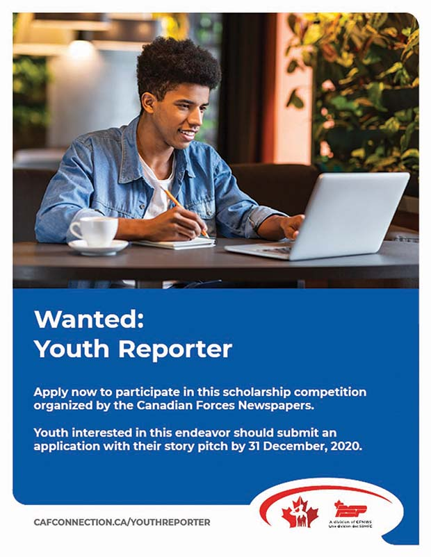 Youth Reporter Competion poster